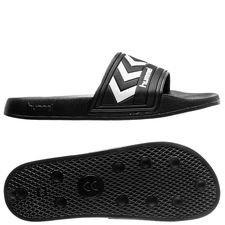 hummel badesandal larsen - sort/hvid - sandaler