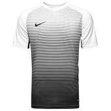nike spilletrøje precision iii - sort/hvid - fodboldtrøjer
