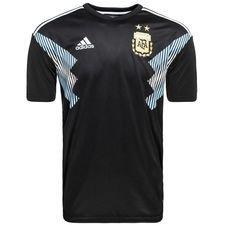argentina away shirt world cup 2018 kun aguero 9 - football shirts
