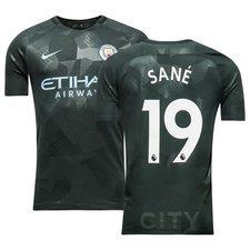 Manchester City Tredjetröja 2017/18 SANÉ 19 Barn