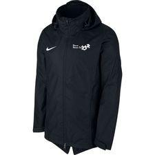 hf2000 - regnjakke sort børn - jakker