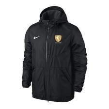 nike jacket team fall black - jackets