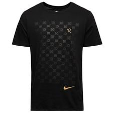 nike t-shirt repeat 10r - sort/guld - t-shirts