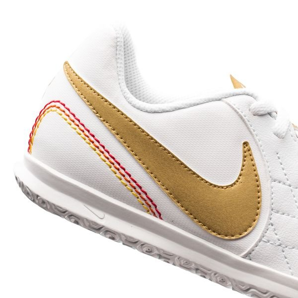 Nike Tiempo Legendx 7 Club Ic 10r - Enfants Blancs / Or hxySn3Me