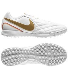Nike Tiempo LegendX 7 Academy TF 10R - Wit/Goud