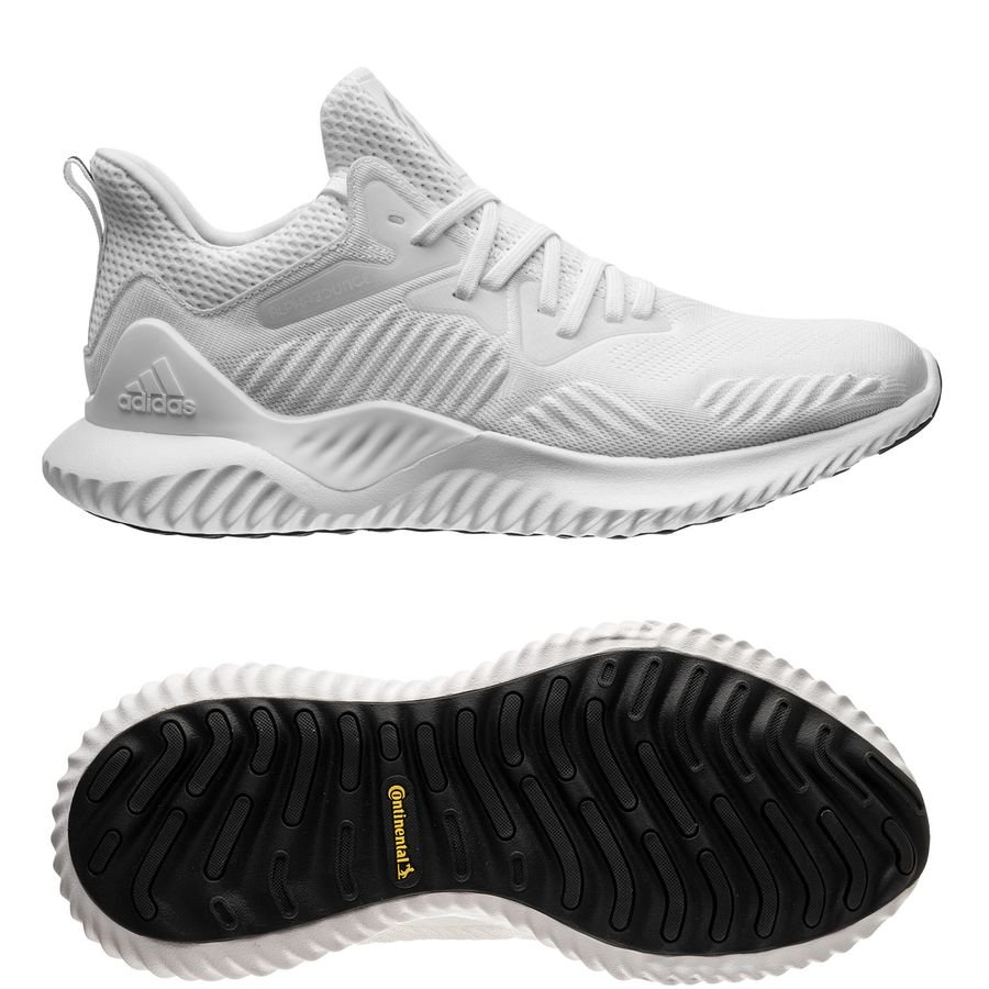on sale 44450 5ee6f adidas running shoe alphabounce beyond - footwear whitesilver metallic -  running shoes ...