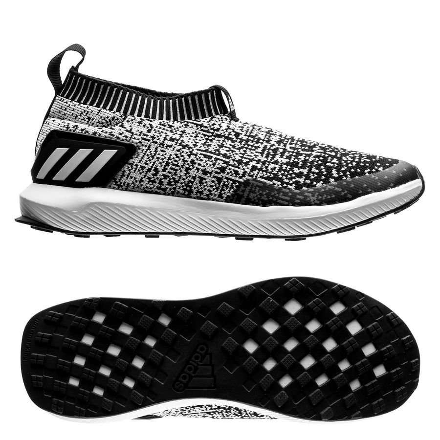 9cfb25eca5d adidas running shoe rapidarun laceless - core black footwear white kids - running  shoes ...
