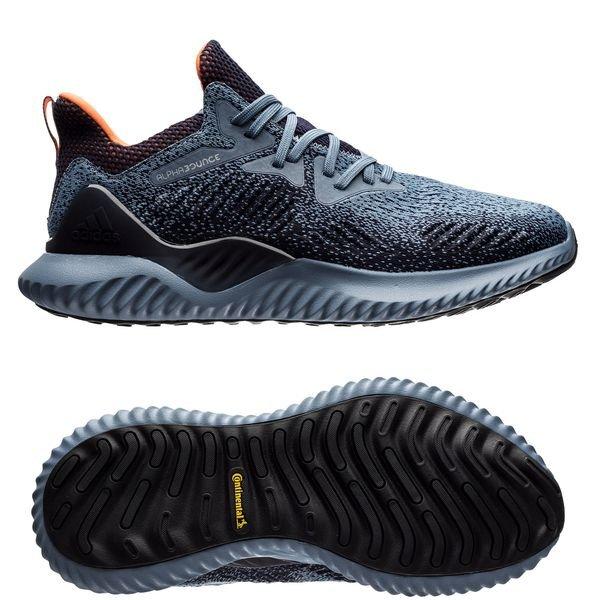 adidas Chaussures de Running AlphaBounce Beyond VertBleu Marine