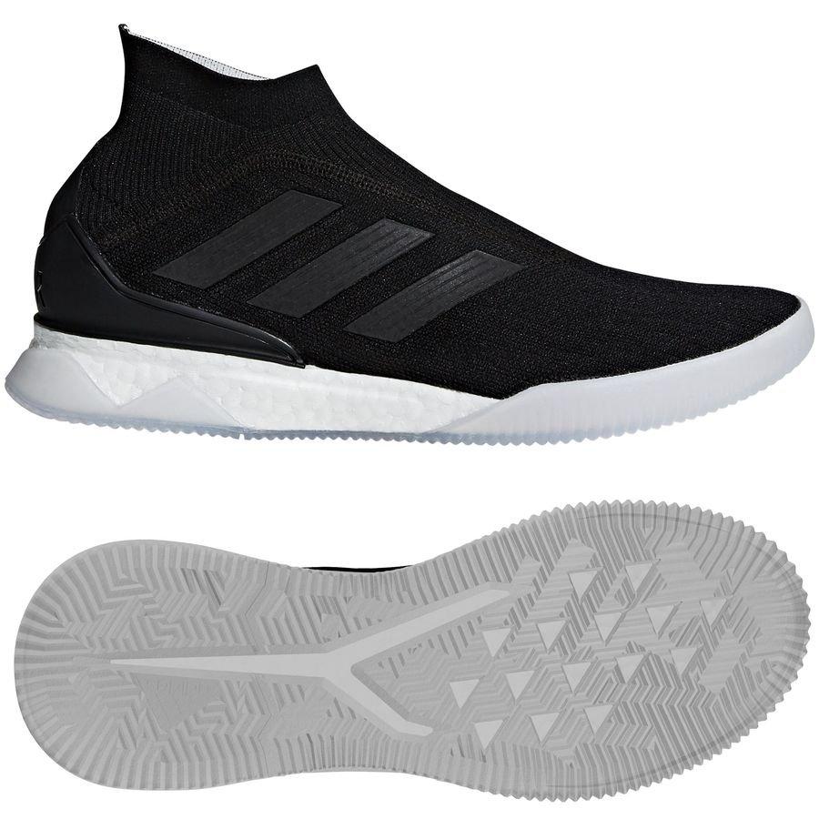 best website ef93b e493c adidas predator tango 18+ trainer boost shadow mode - sorthvit limited  edition ...
