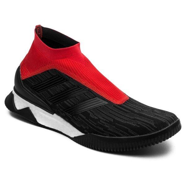 sports shoes 414b5 58972 ... adidas predator tango 18+ trainer boost team mode - sortrød limited  edition ...