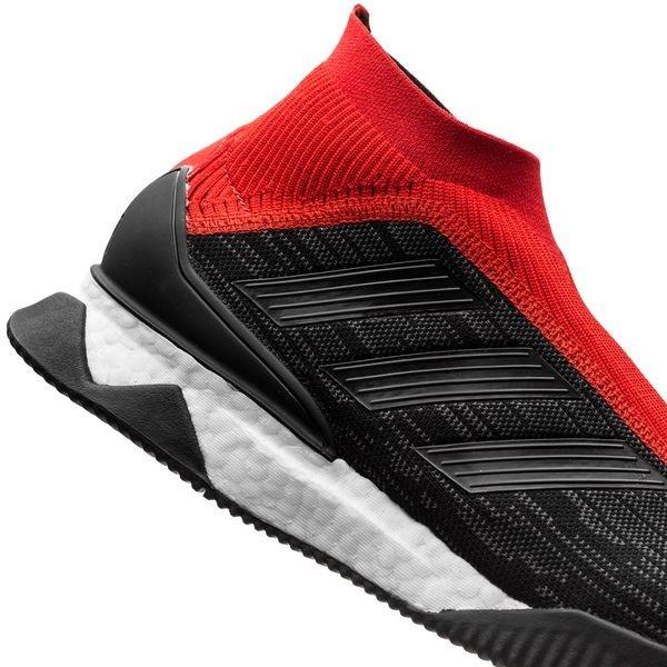 new concept 426ef c6e03 adidas Predator Tango 18+ Trainer Boost Team Mode - Noir Rouge ÉDITION  LIMITÉE 8