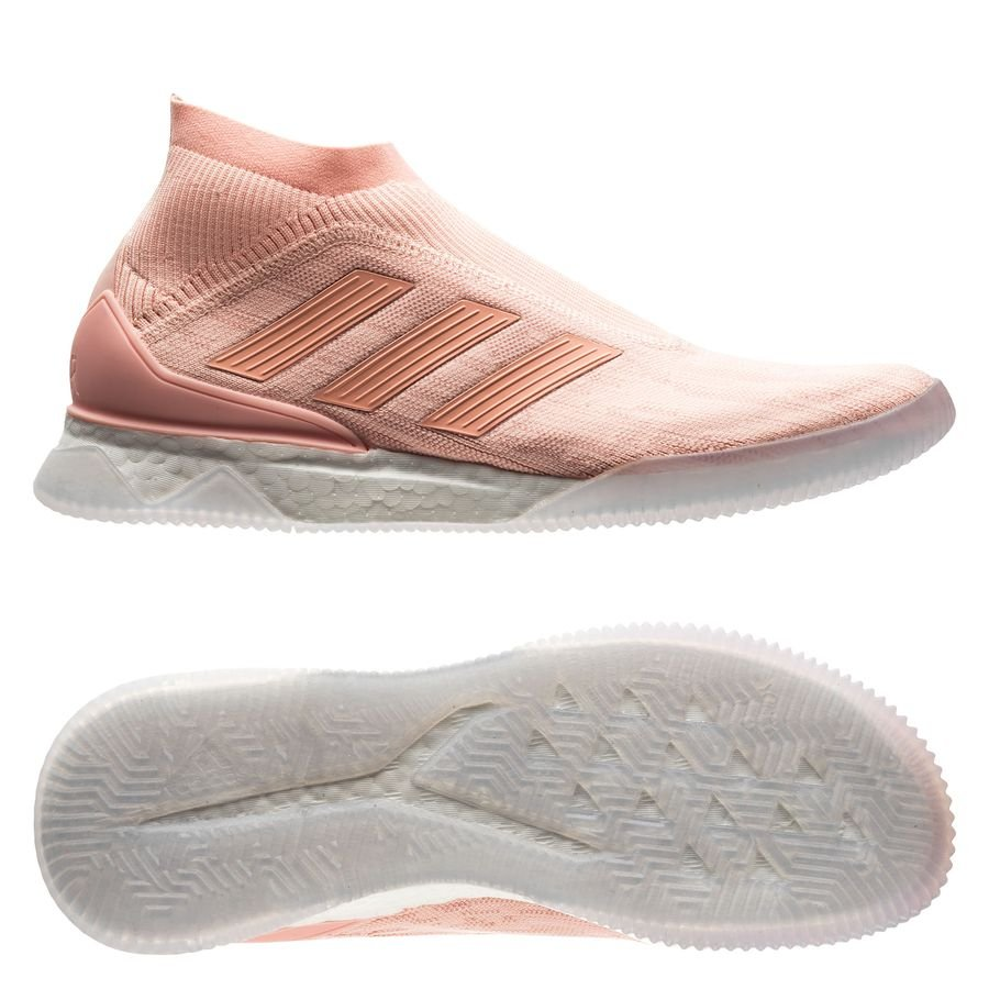 10a3642fc21a adidas Predator Tango 18+ Trainer Boost Spectral Mode - Trace Pink LIMITED  EDITION | www.unisportstore.com