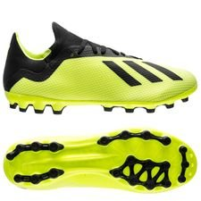 adidas X 18.3 AG Team Mode - Geel/Zwart/Wit