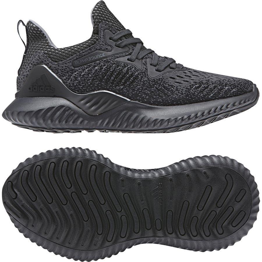 adidas Chaussures de Running AlphaBounce Beyond - Gris/Noir Enfant