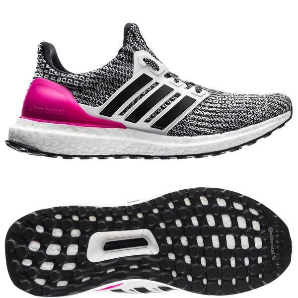 the latest eea02 9096e adidas Ultra Boost 4.0 - Footwear White/Core Black/Pink Kids ...