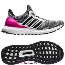 adidas Ultra Boost 4.0 - Footwear White/Core Black/Pink Kids