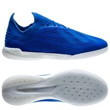 adidas x tango 18.1 trainer energy mode - blå/gul - sneakers