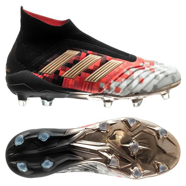 new styles 33e00 70be0 adidas Predator 18+ FG AG Telstar Mechta Pack - Red White Black LIMITED  EDITION   www.unisportstore.com