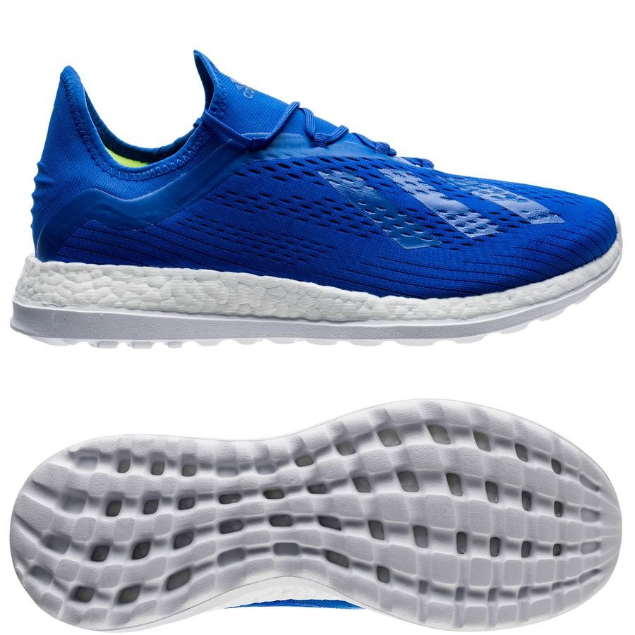 adidas X 18+ Trainer Energy Mode - Bleu/Jaune ÉDITION LIMITÉE