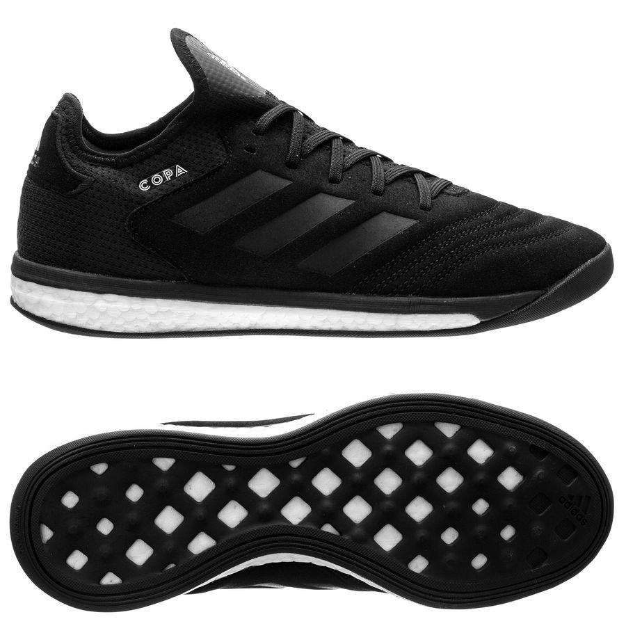 super popular 2402e 0abd5 adidas copa tango 18.1 trainer boost shadow mode - svartvit - sneakers ...