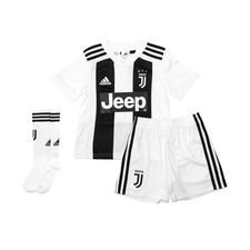 juventus home shirt 2018/19 mini-kit kids - football shirts