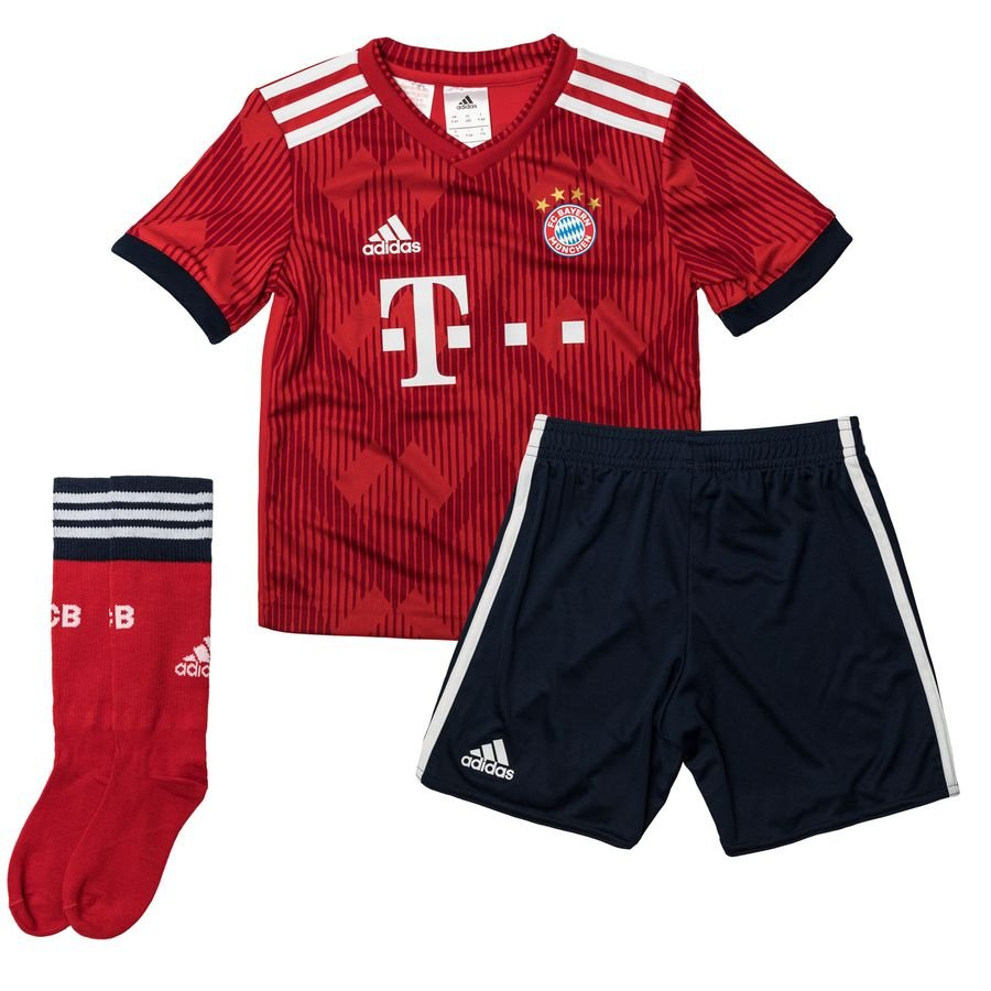 3f880c8d3 bayern münchen home kit 2018 19 mini-kit kids - football shirts ...