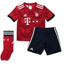 bayern münchen hjemmebanesæt 2018/19 mini-kit børn - fodboldtrøjer