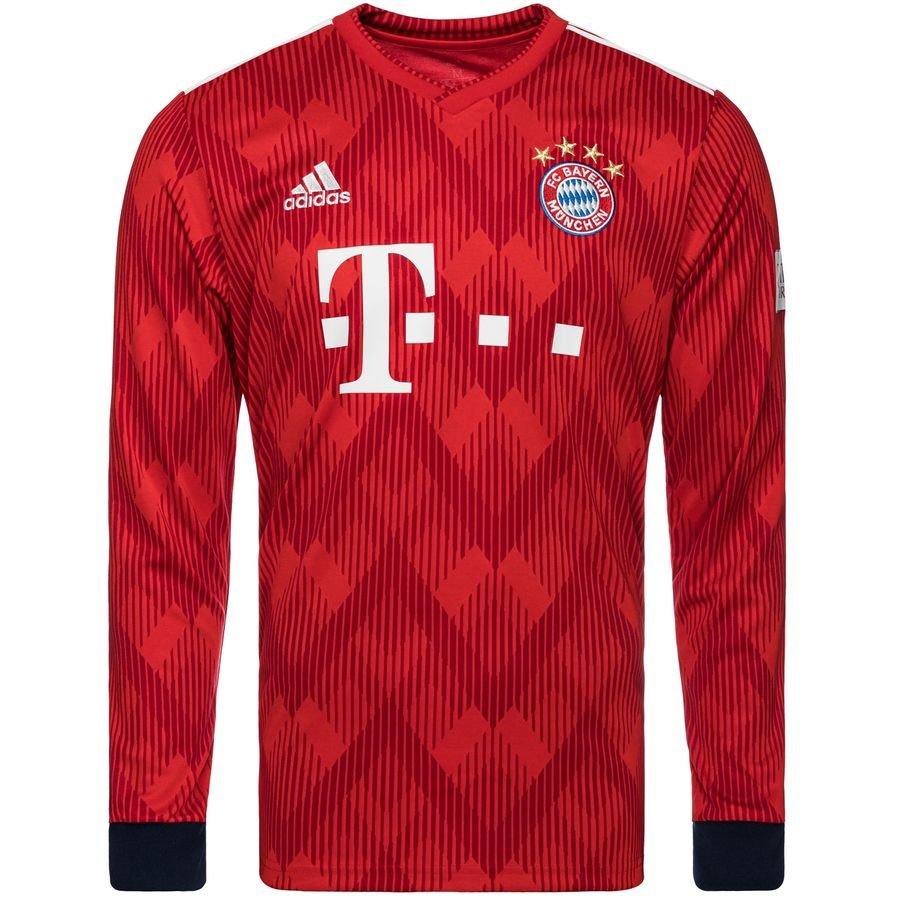 Bayern München Hjemmebanetrøje 2018/19 Langærmet