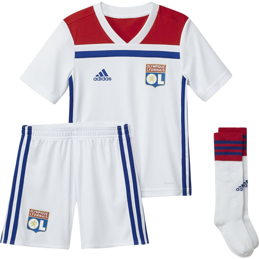 d86f5110a lyon home shirt 2018 19 mini-kit kids - football shirts ...