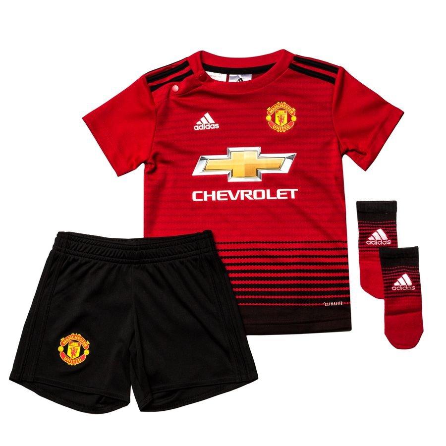 Manchester United Hjemmebanetrøje 2018/19 Baby-Kit