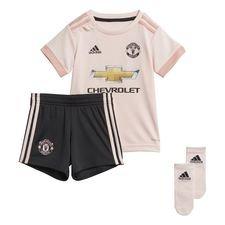 manchester united udebanetrøje 2018/19 baby-kit børn - fodboldtrøjer