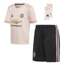 manchester united udebanetrøje 2018/19 mini-kit børn - fodboldtrøjer