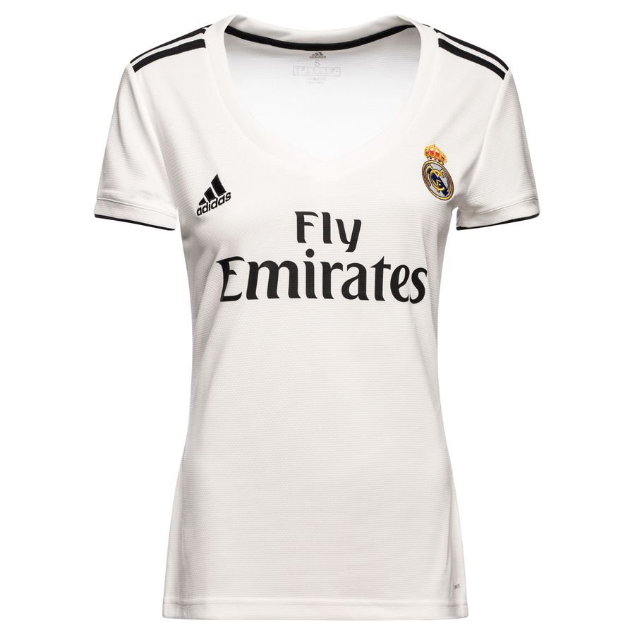 7c2d07fe3 Real Madrid Home Shirt 2018 19 Woman