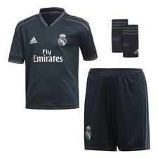 real madrid udebanetrøje 2018/19 mini-kit børn - mini kit