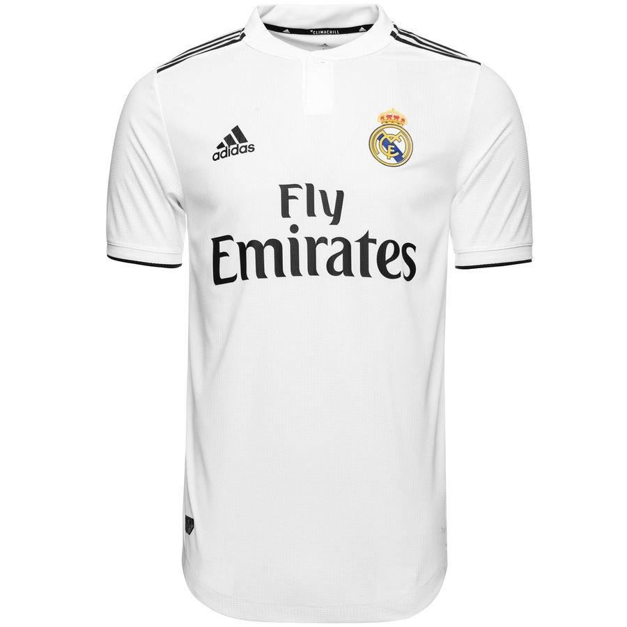 Real Madrid Hjemmebanetrøje 2018/19 Authentic