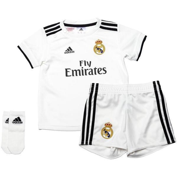 3731f60633900 Real Madrid Maillot Domicile 2018 19 Kit-Bébé Enfant 0