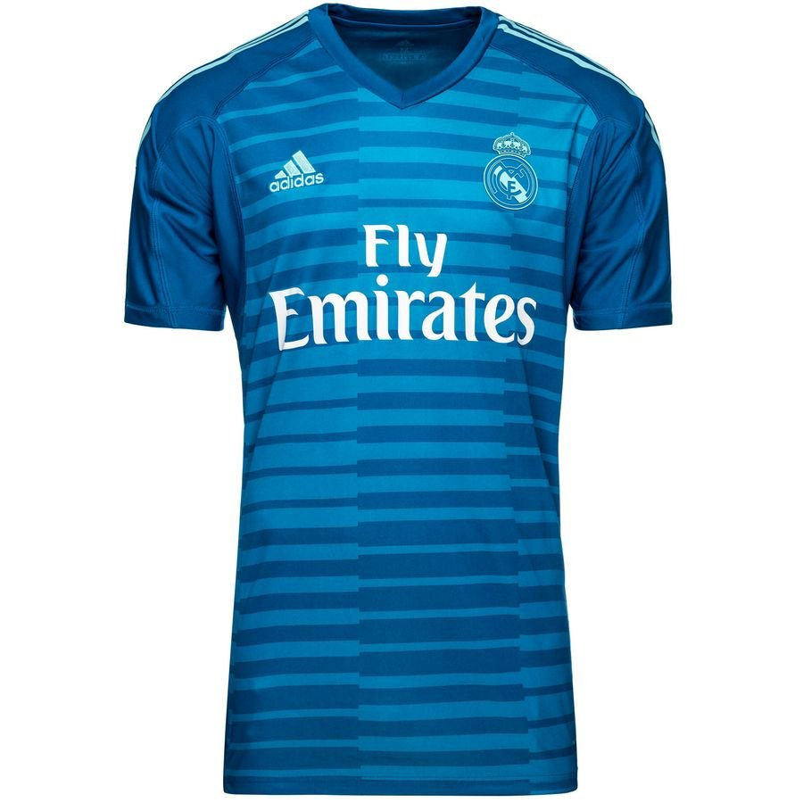 real madrid goalkeeper shirt away 2018 19 - football shirts ... b27c4cd00