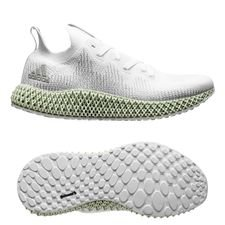 adidas Alphaedge 4D - Wit/Grijs/Lingus Green LIMITED EDITION PRE-ORDER