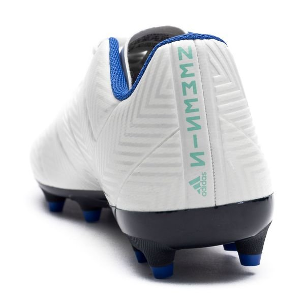 982c5e106ad0 adidas Nemeziz 18.4 FG AG - Off White Legend Ink Hi-Res Blue Women ...
