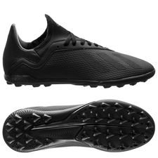 adidas X Tango 18.3 TF Shadow Mode - Zwart/Grijs Kinderen