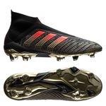 adidas Predator 18+ FG/AG Pogba Capsule Collection Season 4 - Schwarz/Rot LIMITED EDITION