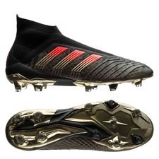 adidas Predator 18+ FG/AG Pogba Capsule Collection Season 4 - Black/Solar Red LIMITED EDITION