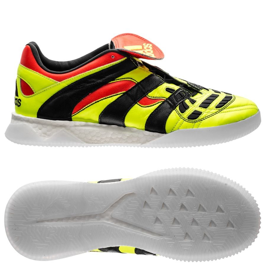 new product d3211 79550 adidas predator accelerator electricity trainer - gul sort rød limited  edition - sneakers