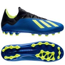 adidas X 18.3 AG Energy Mode - Blauw/Geel