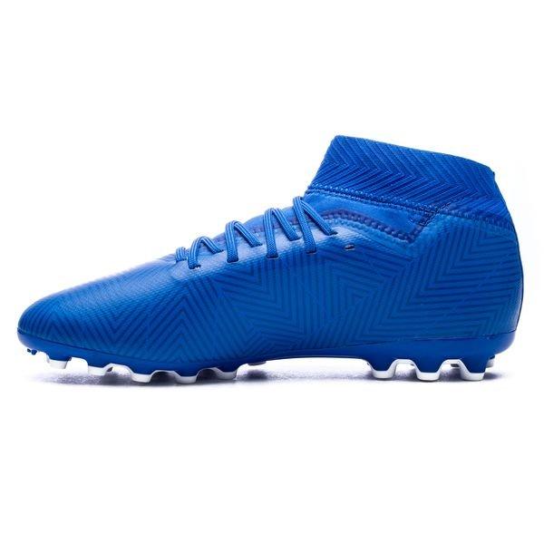 efcc335ad adidas Nemeziz 18.3 AG Team Mode - Blau/Weiß Kinder | www ...