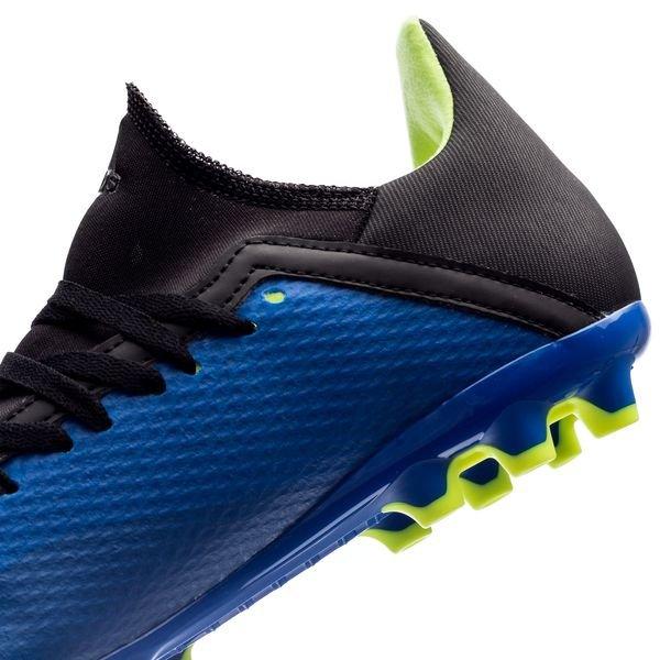 Adidas X 18,2 Ag Mode Énergie - Bleu / Jaune