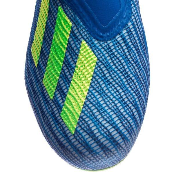 adidas X 18+ FGAG Energy Mode BleuJaune | www