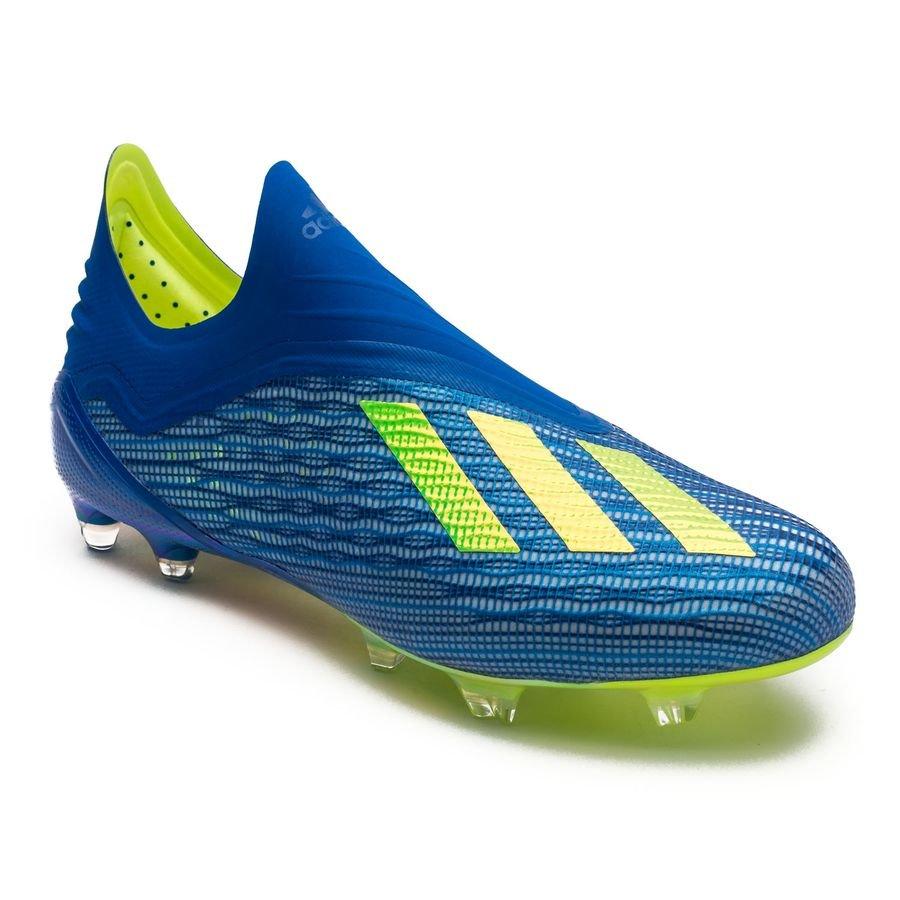 4c9fb628cf328 adidas X 18+ FG AG Energy Mode - Blue Yellow