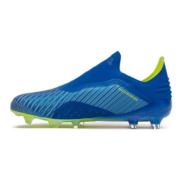 Adidas X 18+ Fg / Ag Mode Énergie - Bleu / Jaune xmsjOPLn