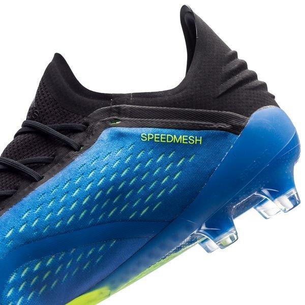 Adidas X 18,2 Fg / Ag Mode Énergie - Bleu / Jaune
